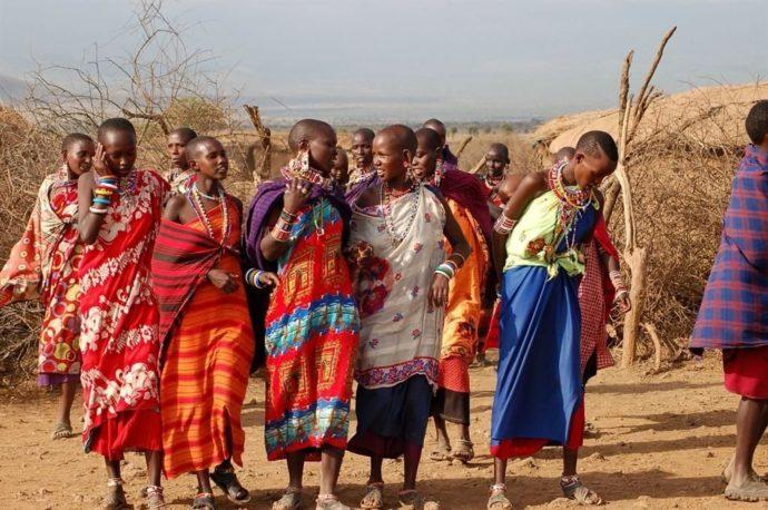 Свадебный обряд в Кении