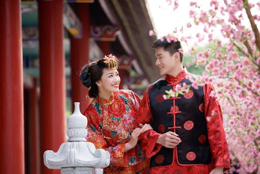 Молодожены в Китае