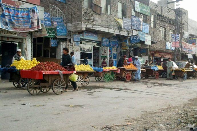 Улицы в Пакистане