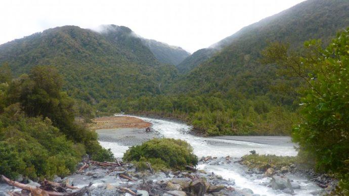 Река Кропп в Новой Зеландии