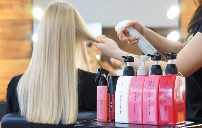 Средства по уходу в парикмахерской