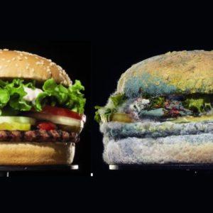 Противная реклама бургера