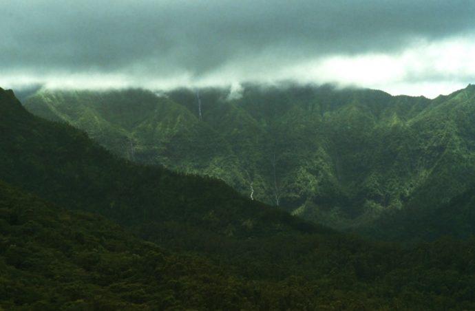 Вулкан Ваиалеале на Гавайях