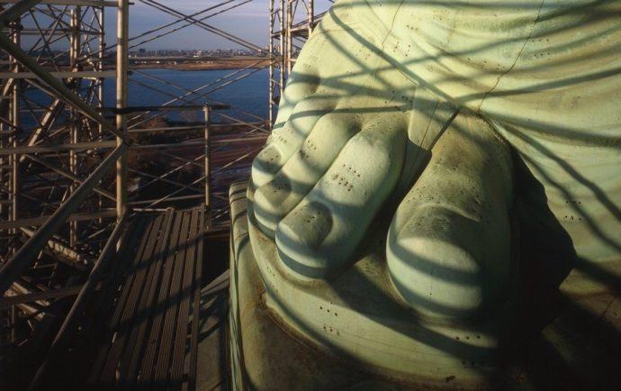 Нога Статуи Свободы