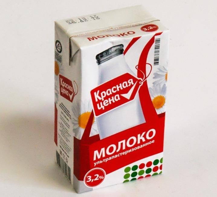 Молоко «Красная цена»