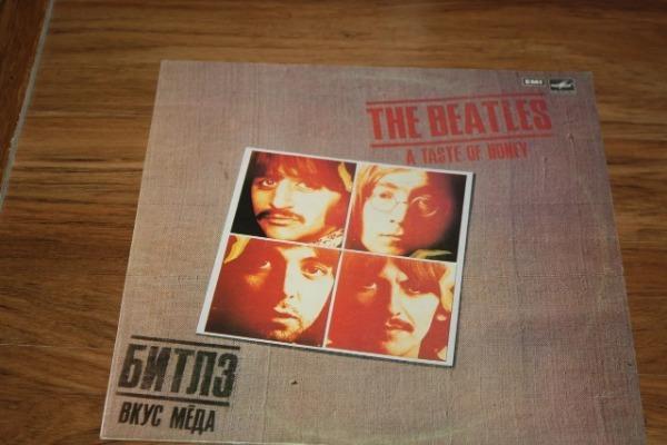 Пластинка «Beatles»