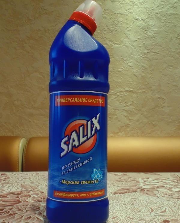 Средство для чистки сантехники Salix
