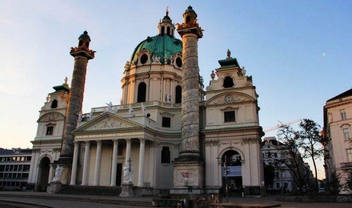 Католическая церковь в Вене
