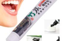 Бамбуковая угольная зубная паста