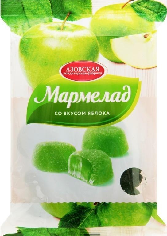 Мармелад от Азовской кондитерской фабрики