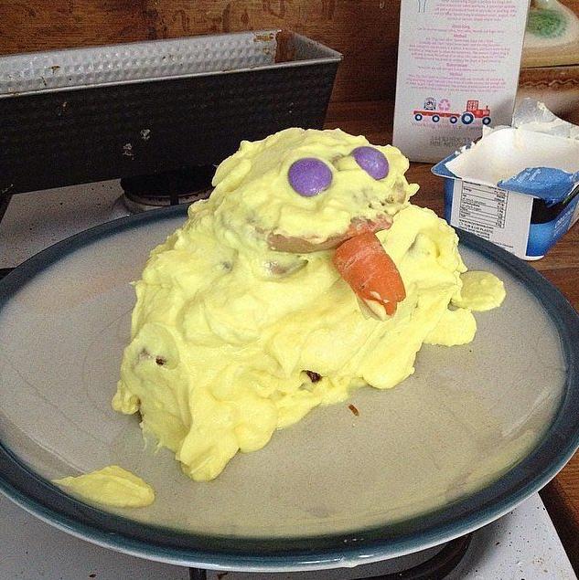 Неудачный торт Цыпленок