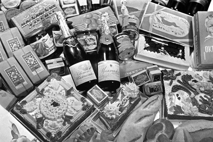 Набор продуктов из СССР