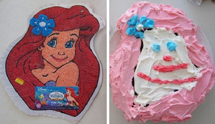 Торт Русалочка