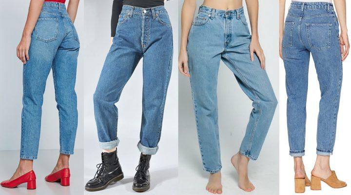 Разные фасоны джинсов