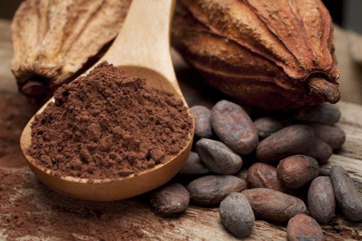 Какао-бобы и порошок из них