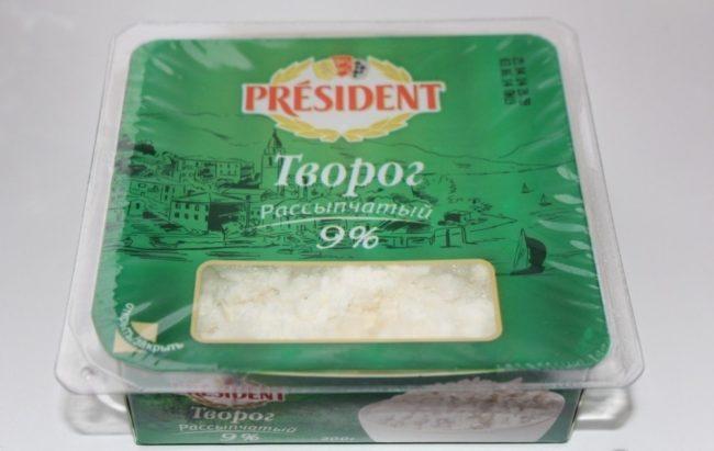 Творог «President»