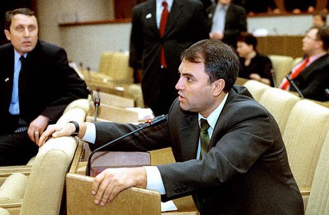Вячеслав Володин на рабочем месте
