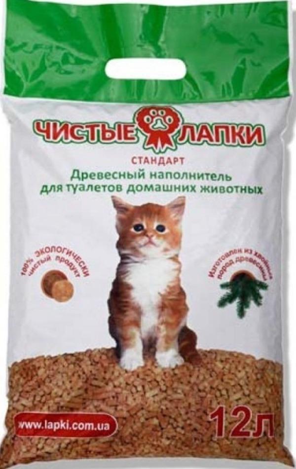 Кошачий наполнитель для лотка