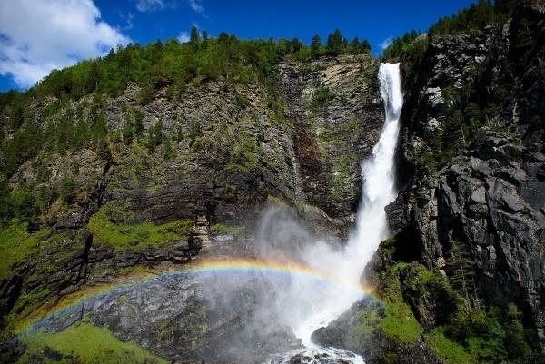 Виннуфоссен в Норвегии