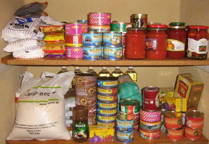 Заготовки впрок:к консервы., кофе, чай, макароны и специи