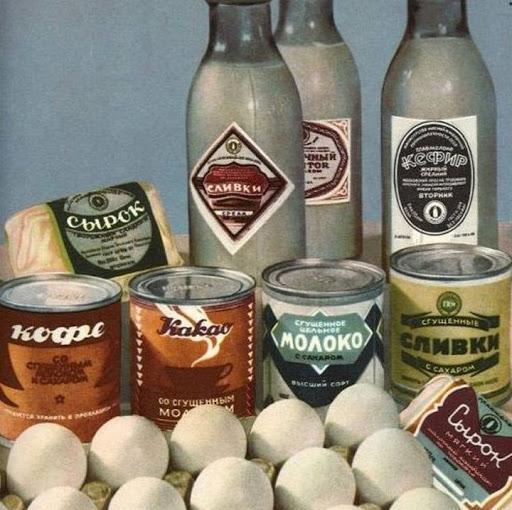 Советские продукты