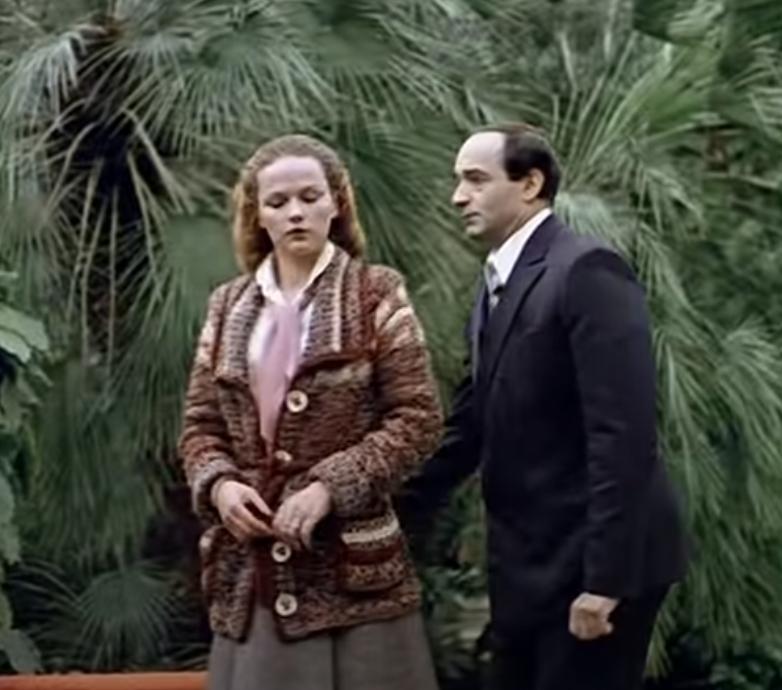 Александра Яеовлева и Валентин Гафт