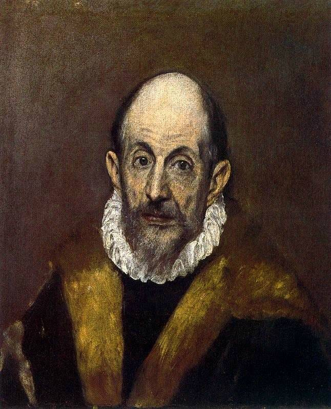 """Эль Греко """"Портрет старика"""""""