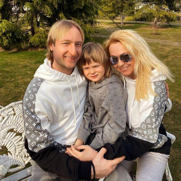 Семья Плющенко-Рудковских