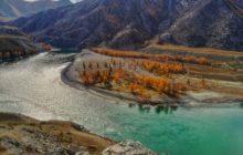 Осенние реки и горы