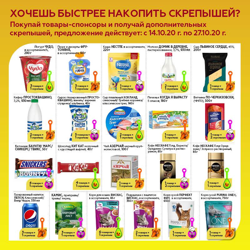 Каталог спонсорских товаров