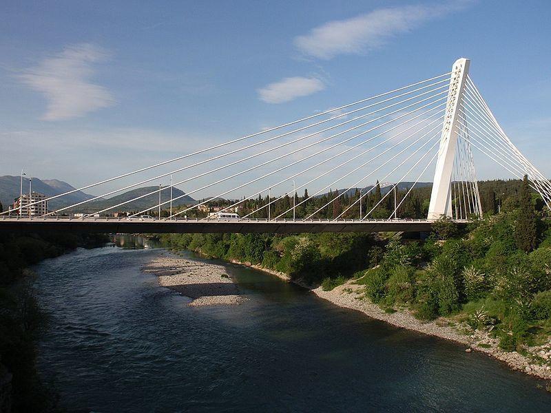 Мост Тысячелетия в Черногории