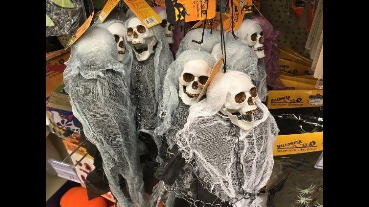 Скелеты декор