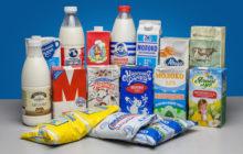 Молочные продукты от разных производителей