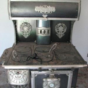Старинная плита