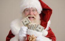 Дед мороз и деньги