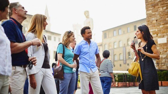 Экскурсовод и туристы