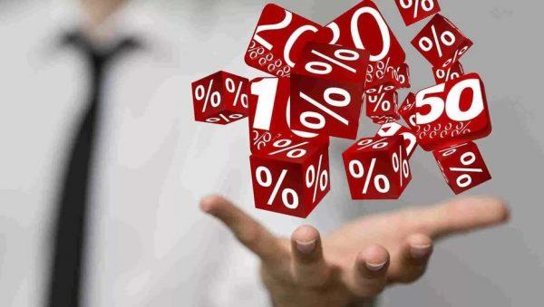 Подбрасывание кубиков с процентами