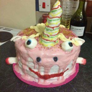 Ужасный детский торт