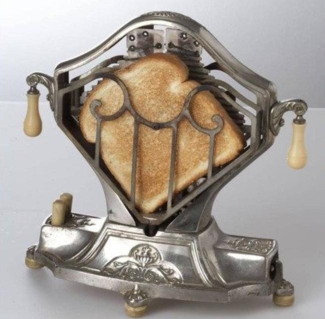 Старинный тостер