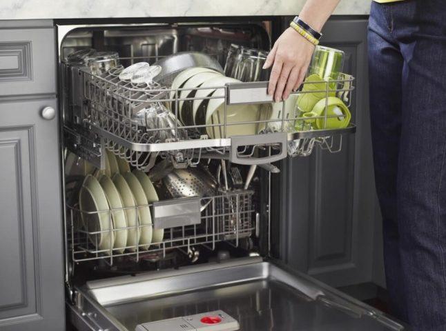 Современная посудомойка