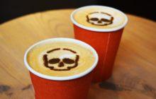 Кофе с черепом
