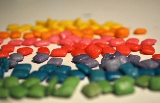 Разноцветные жвачки