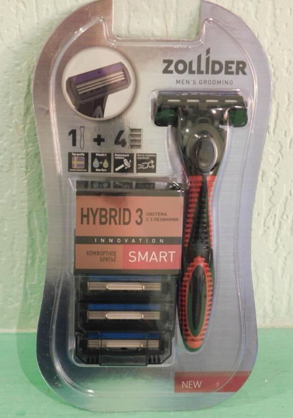 Бритвенный станок Zollider Hibrid 3 Smart