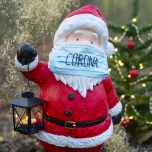 Санта в маске