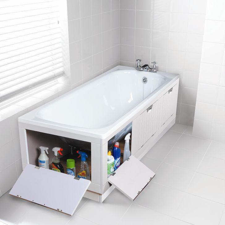 Тайный шкаф в ванной