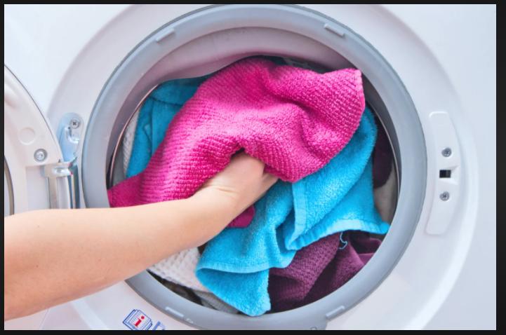 Полотенца в стиральной машинке