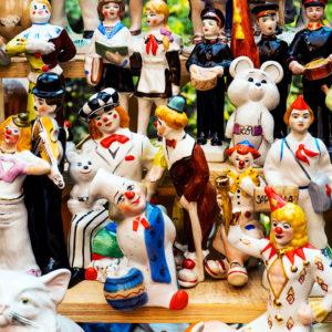 Советские статуэтки