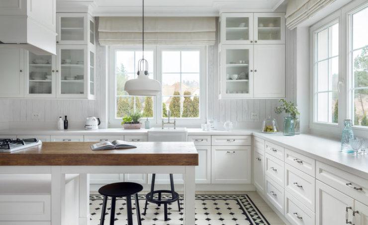 Идеально чистая кухня