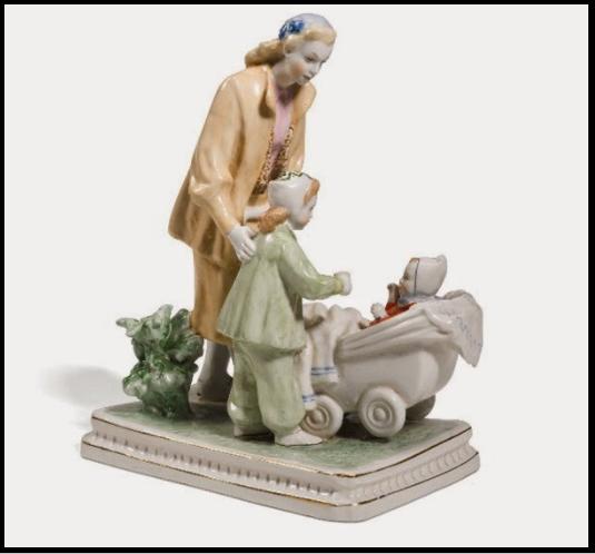 Советская статуэтка