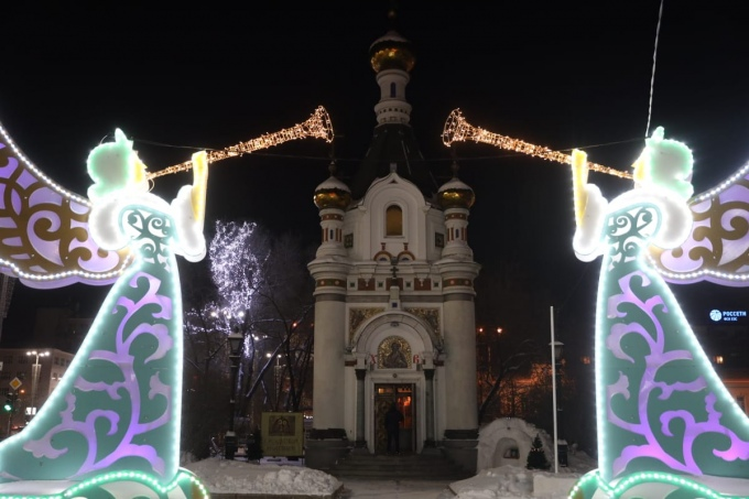 Новогодний декор в Екатеринбурге